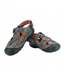 Vostro Men Sandal RiderA610 Grey Orange VSD0003